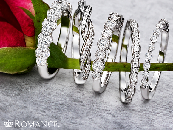 Romance wedding bands - Sanborn's Jewelers