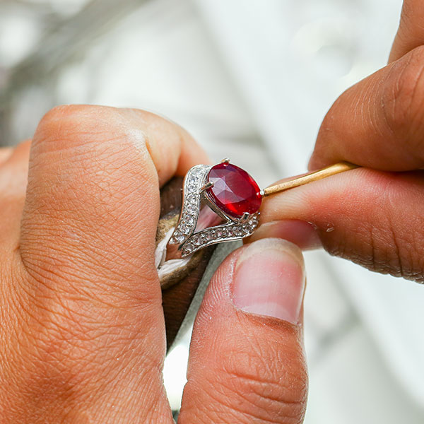 ring setting types - Sanborn's Jewelers